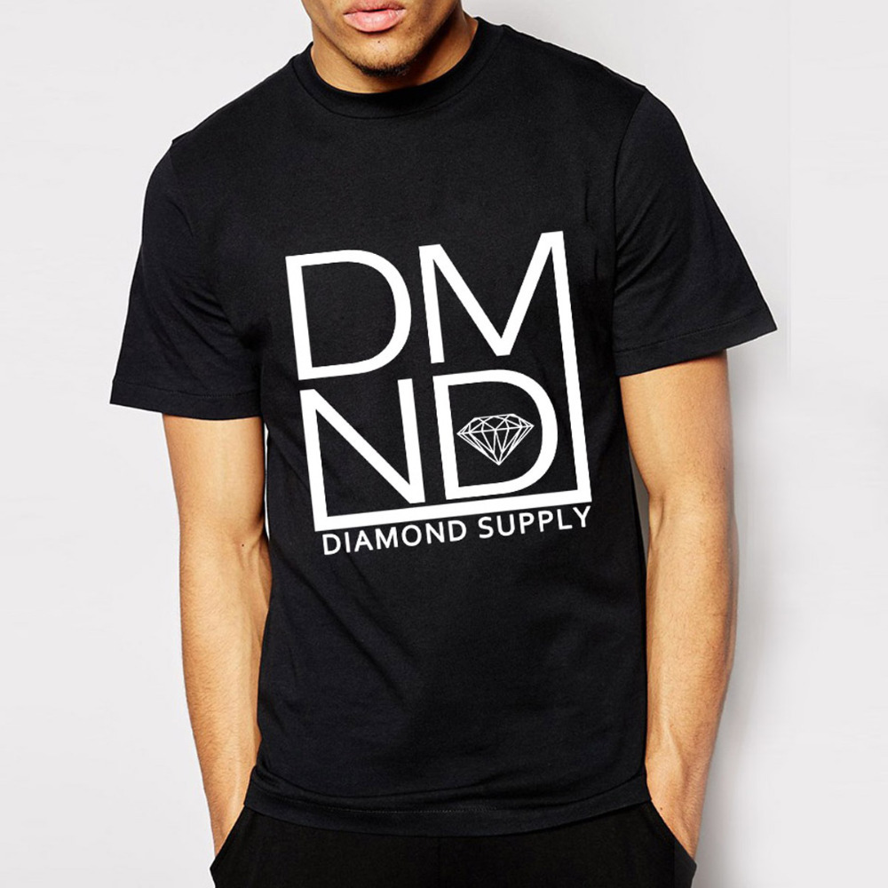 Euro size diamond supply co t shirts men cotton cool for Mens t shirts free shipping