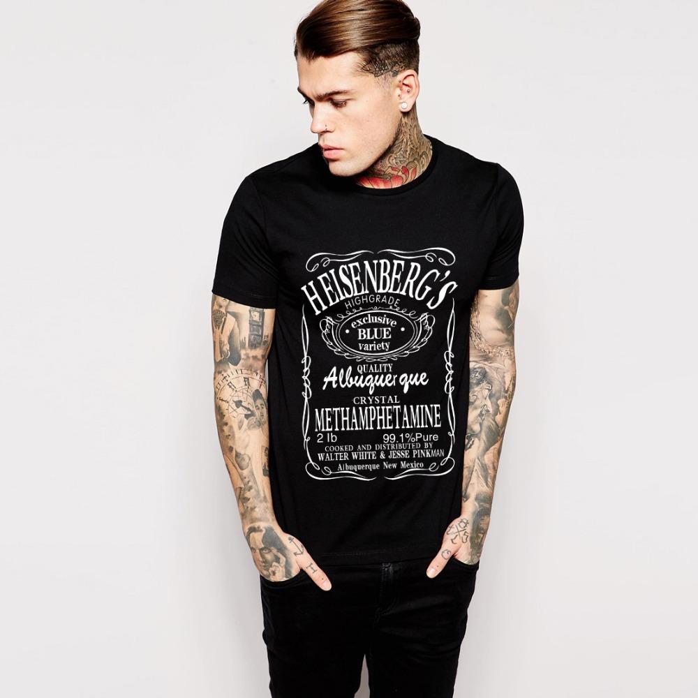 Stylish Cool Heisenberg T Shirt Summer Style Breaking Bad ...