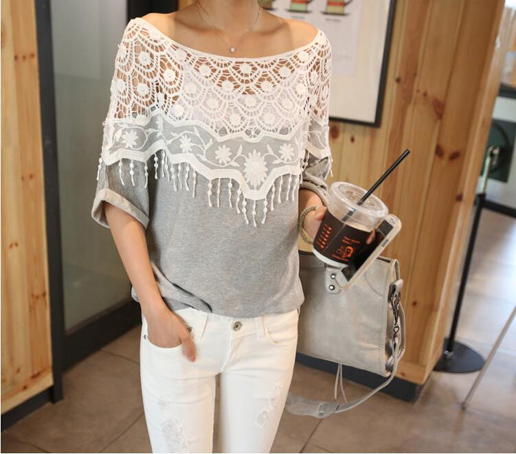 67a71d9c3dd95d Women summer clothing white tshirts cotton women off shoulder top solid  batwing sleeve women t shirt hollow out ladies tops