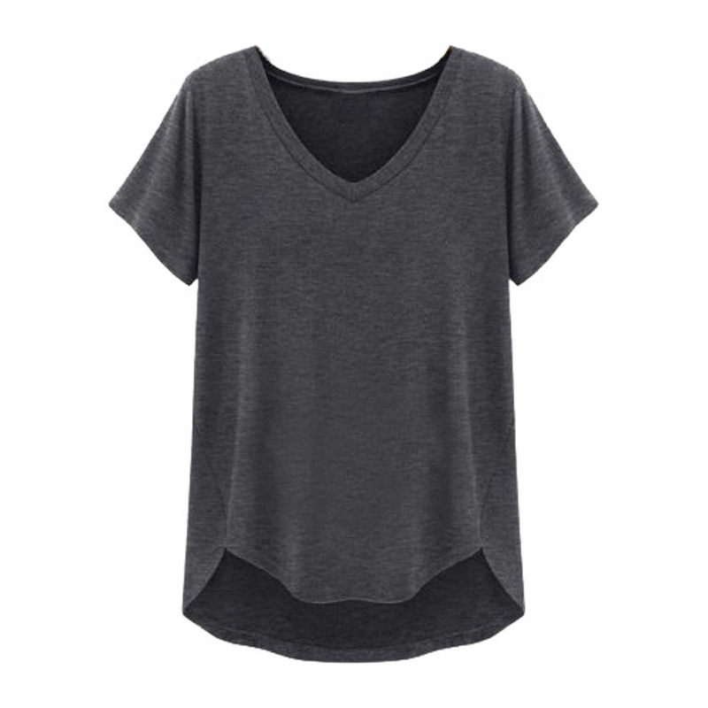 New 2016 fashion brand t shirt women short sleeve v neck for Branded v neck t shirts